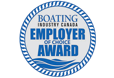 Boating Industry Canada Employer Choice Award