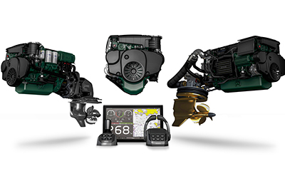 Volvo Penta D4 and D6