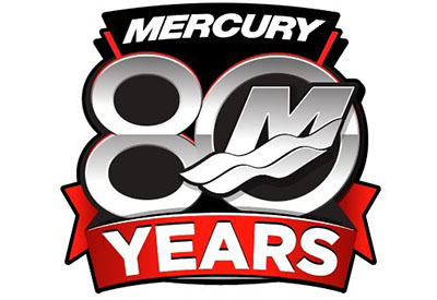 Mercury 80th Logo