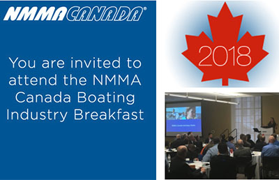 NMMA Canada Breakfast invitation