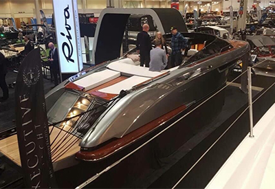 First Riva Yacht