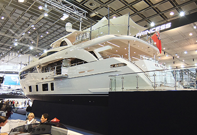 Superyachts In hall