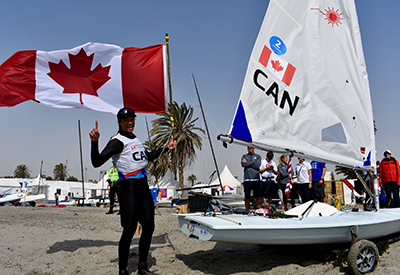 Sarah Douglas and Her Laser Radial