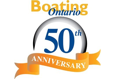 Boating Ontario 50thAnniversary Logo 400