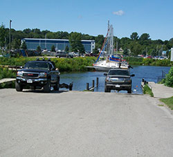 Boat Launch Ramp