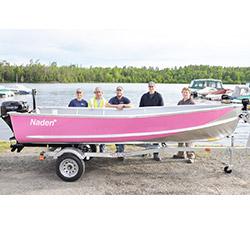 Naden Pink Boat Tour