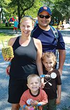 Family at Splash Festival
