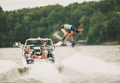 Meagan Ethell and Mastercraft