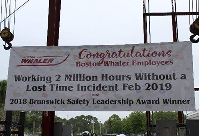 Boston Whaler Safety Award
