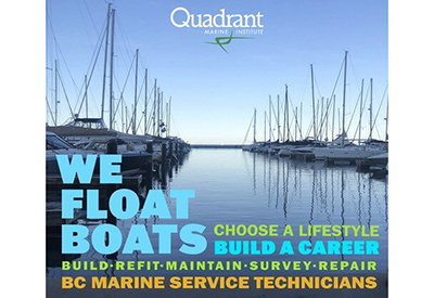 Quadrant We Float Your Boat