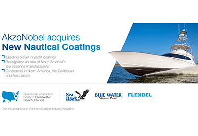 Akzonobel Acquires New Nautical Coatings