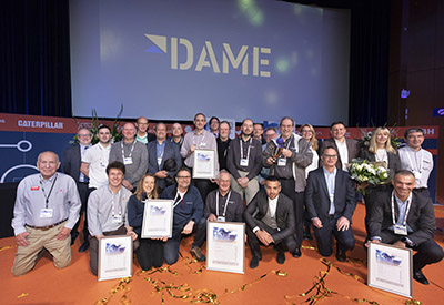 Dame Award Winners 2018